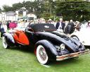 В 1931 году кузовная фабрика Weymann уже изготавливала кузов типа «спидстер» на шасси автомобиля Duesenberg. Правда тогда это была модель «J», фото Supercars.net