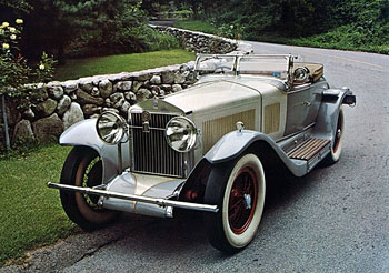 1926 Isotta Fraschini Tipo 8A S Fleetwood Roadster