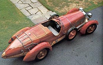 1924 Hispano-Suiza H6C Tulipwood