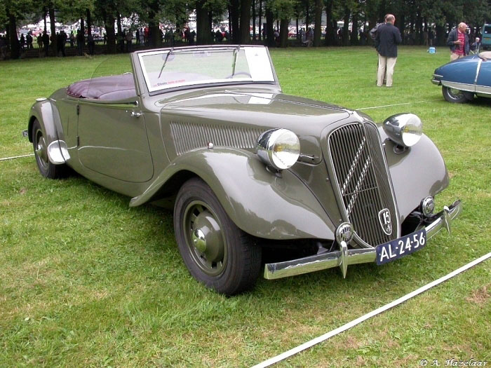 Town And Country Toyota >> 1939 Citroen Traction Avant Cabriolet - CARPEDIA