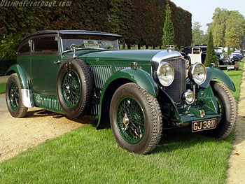 1930 Bentley Speed Six «Blue Train Special»