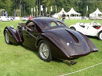 1935 Bugatti Type 57 Gangloff Coupe