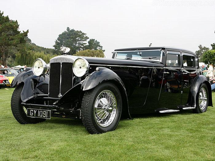 1932 Daimler Double Six 40 50 Walter Sport Saloon Carpedia