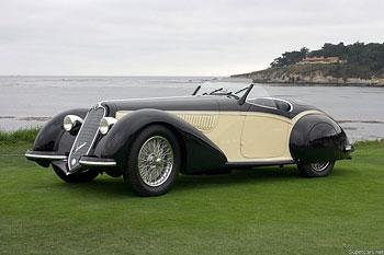 1937 Alfa Romeo 8C 2900 B Corto Touring Spider