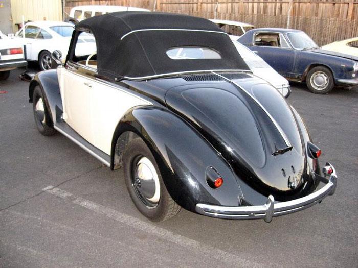 1949 Volkswagen Hebmuller Cabriolet Carpedia