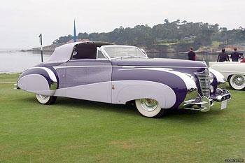 1948 Cadillac Series 62 Saoutchik Cabriolet