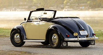 1949 Volkswagen Hebmuller Cabriolet