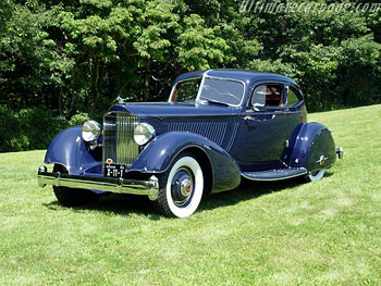 1934 Packard Twelve LeBaron Aero Sport Coupe