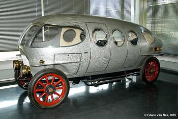 1914 Alfa Romeo 40-60 Aerodinamica «Siluro Ricotti»