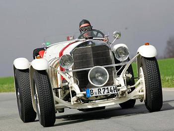 1931 Mercedes-Benz 720 SSKL