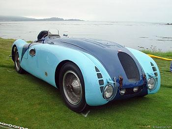 1936 Bugatti Type 57G Tank