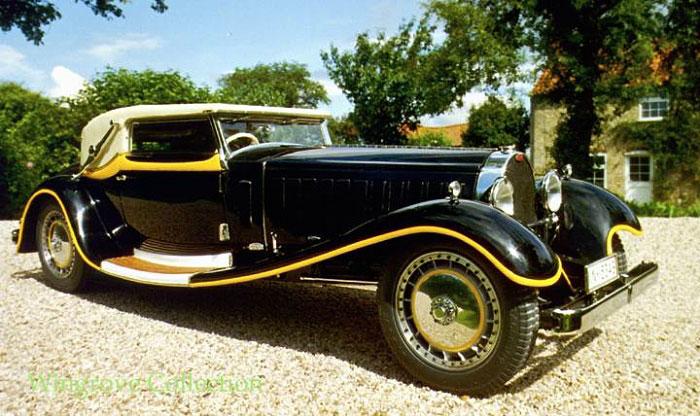 1931 Bugatti Type 41 Royale Weinberger Cabriolet Carpedia