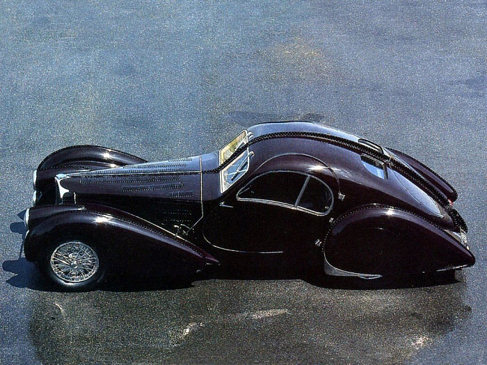 Bugatti type 57sc atlantic фото