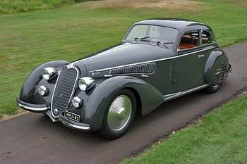 1938 Alfa Romeo 8C 2900B Lungo Touring Berlinetta