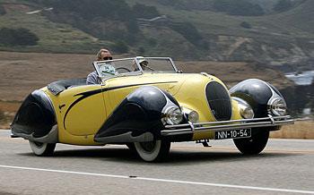 1938 Talbot Lago T150CS Figoni&Falaschi Torpedo Cabriolet