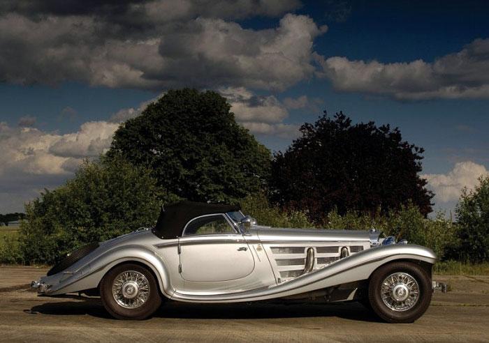 Sm on 1936 Mercedes Benz 540k