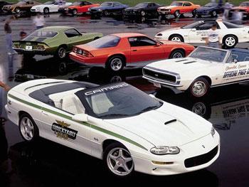 История Chevrolet Camaro