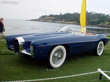 1966 Bugatti Type 101 Exner Ghia