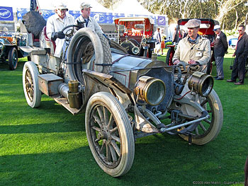 1907 Thomas Flyer Model 35 New York-To-Paris